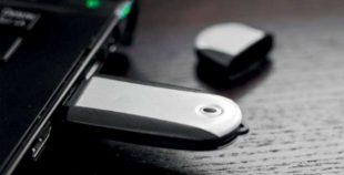 Memoria USB clásica oval