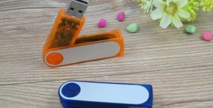 Pendrive USB giratorio PVC