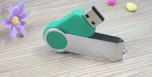 Pendrive USB personalizado giratorio