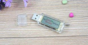 Memoria USB flashing logo (destellante)