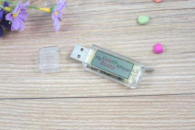 Memoria USB flashing logo (destellante)