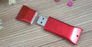 Memoria USB galleta