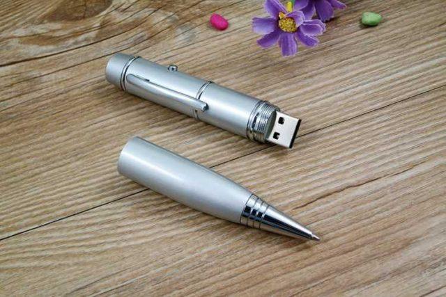 Pendrive bolígrafo USB láser