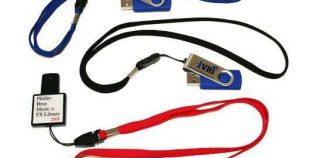 Colgante lanyard para memorias USB