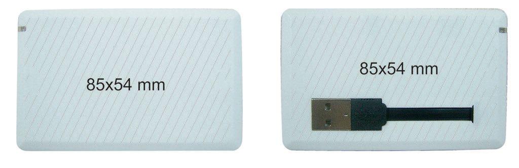 Memoria pendrive tarjeta USB conector extensible