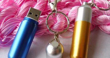 Memoria USB formato obús tipo llavero