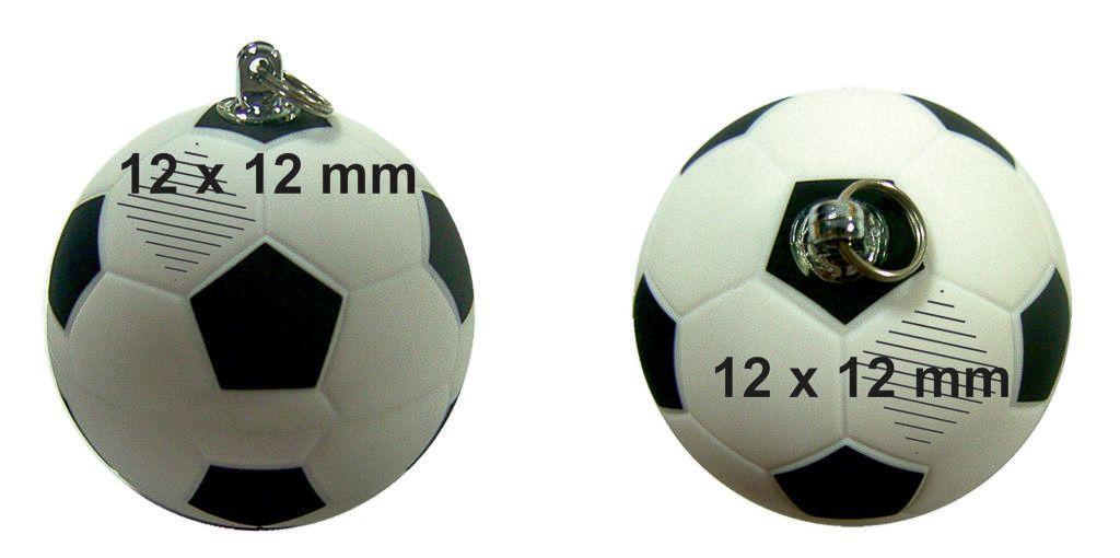 Áreas marcaje logos USB balón fútbol