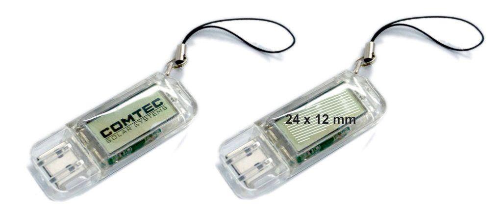 Tamaño logotipo USB logo destellos