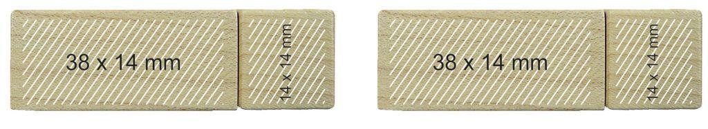 Pendrive personalizado memoria USB madera
