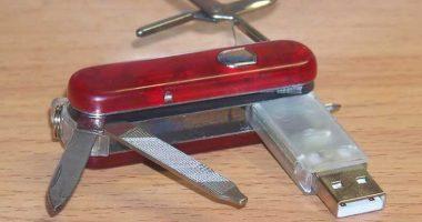 Pendrive memoria USB navaja suiza