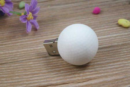 Pendrive USB pelota golf personalizado