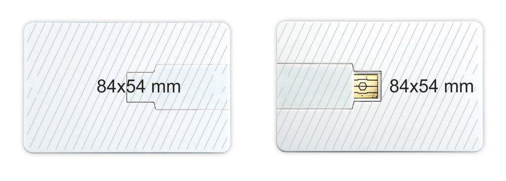 Pendrive tarjeta memoria USB personalizada