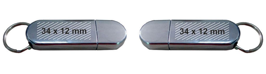Pendrive personalizado USB llavero PVC