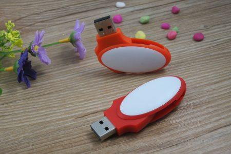 Pendrive memoria USB ovalado