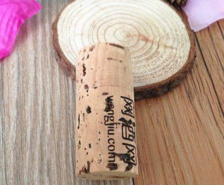 Memoria USB corcho vino