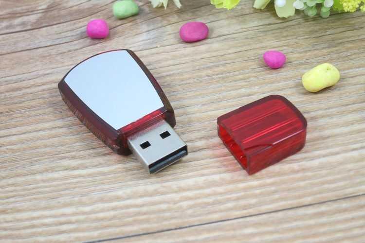 Memoria USB en PVC bicolor