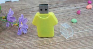 Memoria USB en forma de camiseta