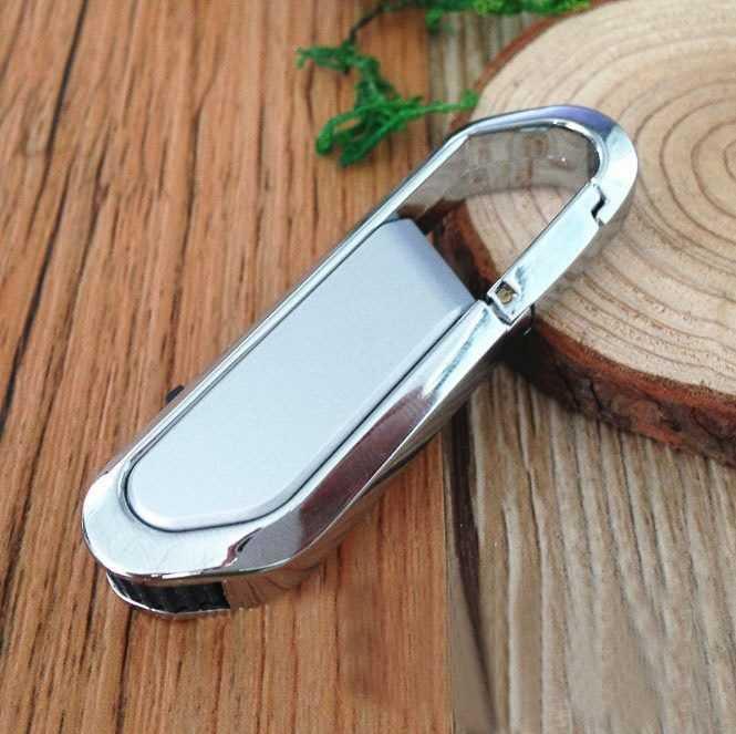 Pendrive USB mosquetón