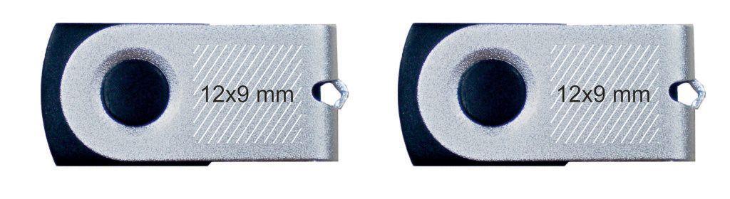 Marcaje pendrive USB giratorio tamaño mini