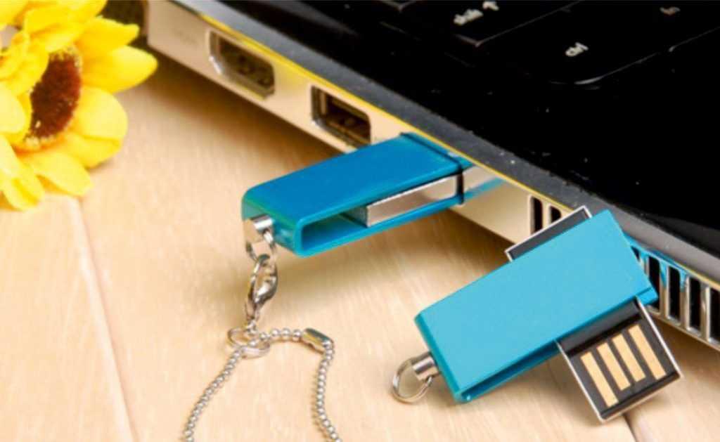 Memoria pendrive USB mini giratoria personalizada