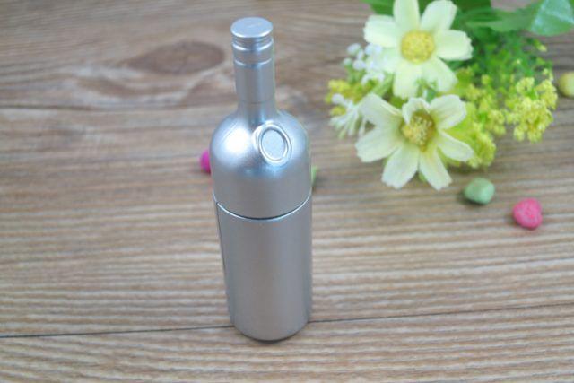 Pendrive memoria USB botella vino