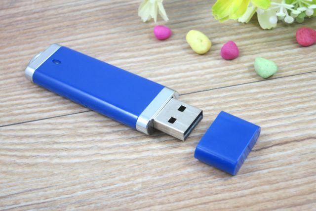 Memoria USB pendrive oval PVC