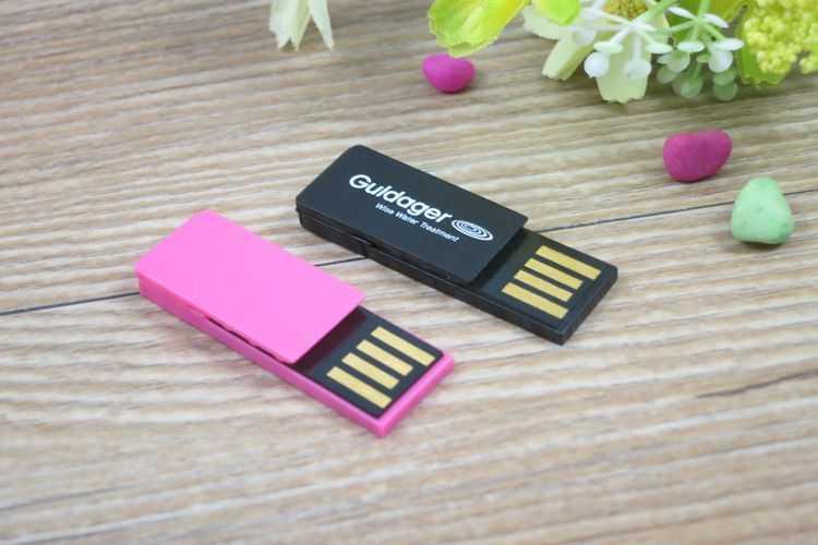 Memoria USB clip pendrive tamaño mini
