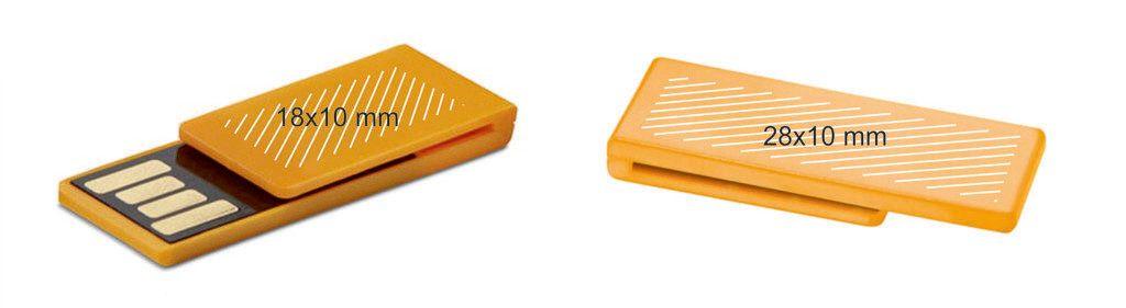 Memoria USB clip PVC