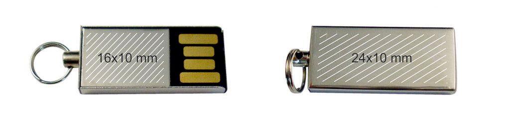 Pendrive memoria USB mini metálica