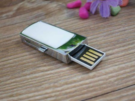 Pendrive memoria USB retráctil mini