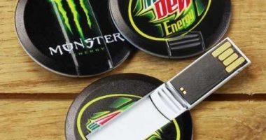Pendrive tarjeta USB circular
