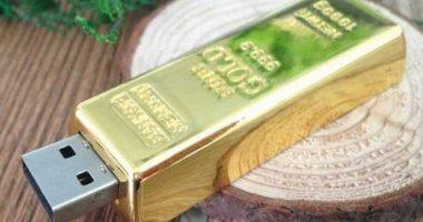 Pendrive memoria USB lingote oro
