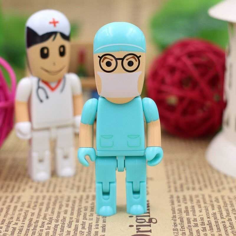 Memoria USB médico doctor enfermera