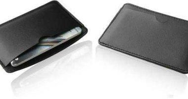 Funda simil piel para tarjetas memoria USB