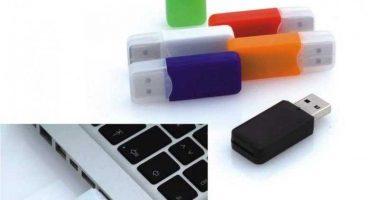 Lector tarjetas de memoria SD tamaño mini