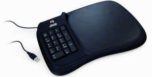 Alfombrilla personalizable con teclado numérico