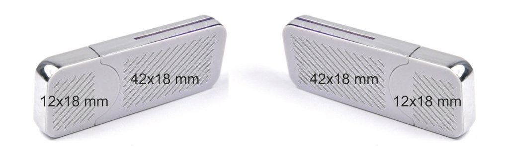 Área marcaje memoria USB 3.0
