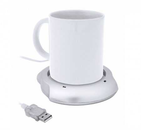 Calentador de tazas por USB