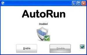 Función autorun USB