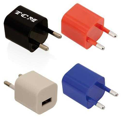 Adaptador cargador USB