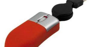 Ratón USB cable extensible