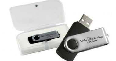 Memoria USB en estuche regalo boda