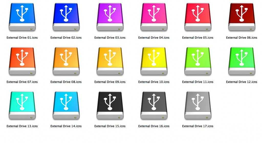 Icono memorias USB