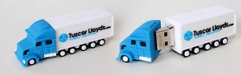 Memoria USB camión 3D