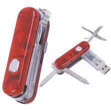 Memoria USB 2.0 formato navaja suiza
