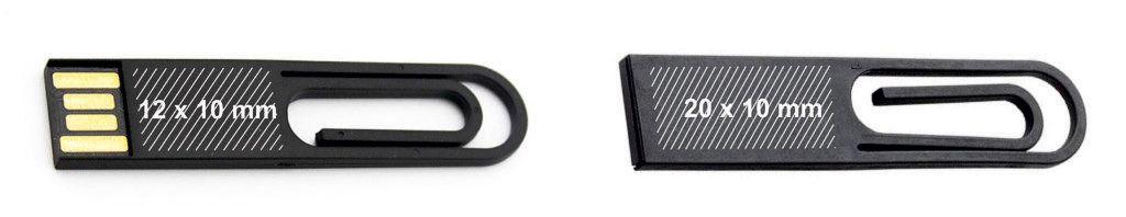 Areas marcaje memoria pendrive USB clip PVC