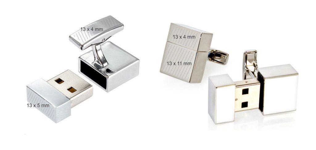 Memoria USB pendrive personalizado forma gemelos