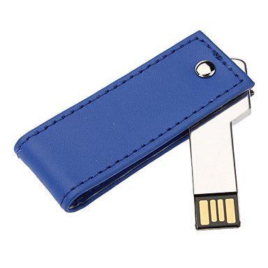 Llave USB con funda cuero