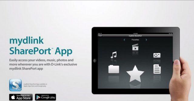 D-Link_mydlink_Shareport_app