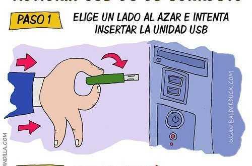 Chiste memorias USB